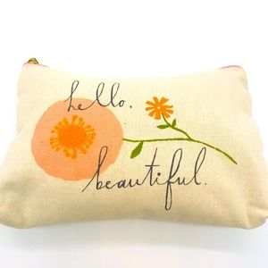 ⭐️2/15 Anthropologie AnthroBeauty Makeup Bag Pouch